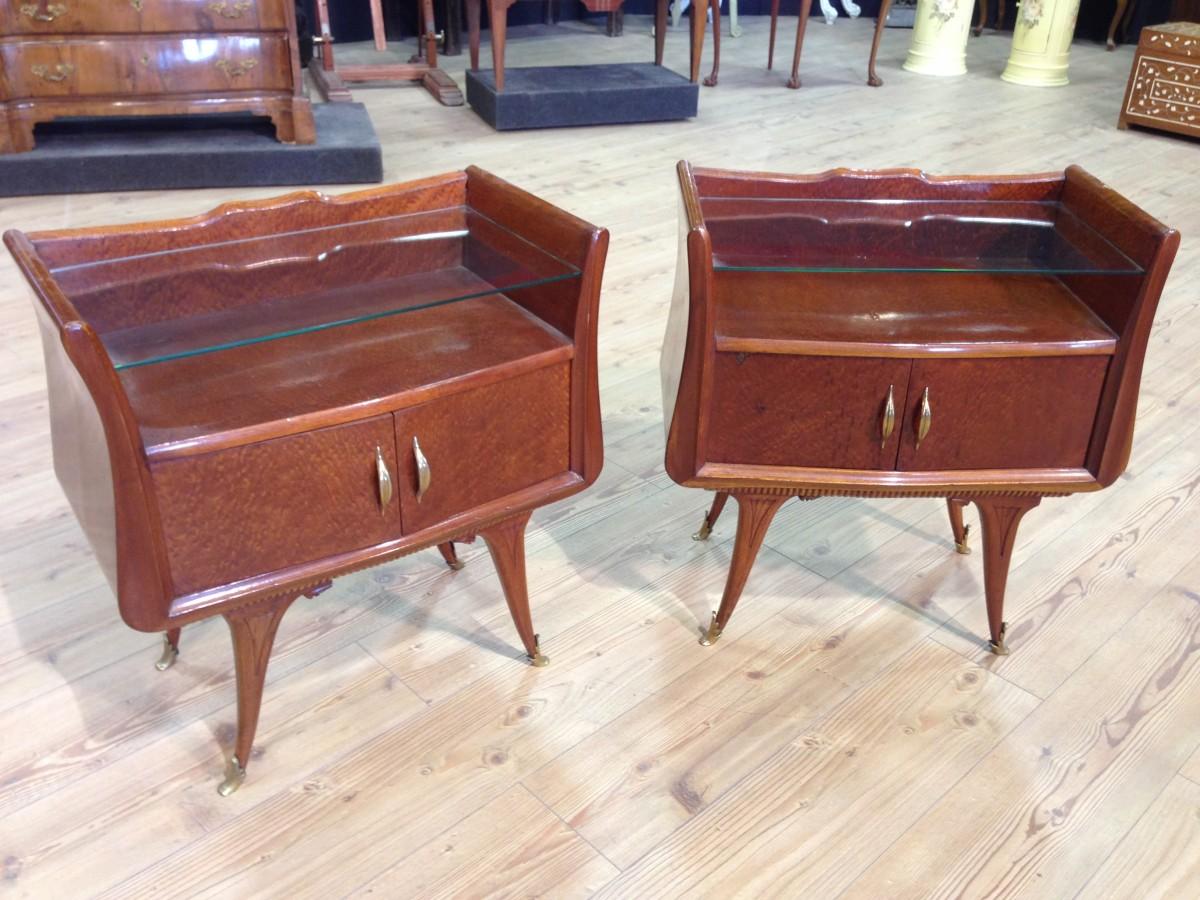 Mobili stile liberty tavolo in stile liberty in radica di - Art nouveau mobili ...