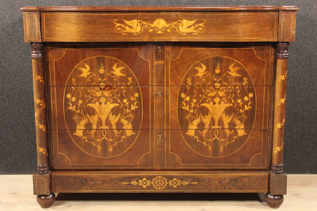 Sedie Ottocento Francese : Lo stile restaurazione e i mobili al tempo di luigi xviii