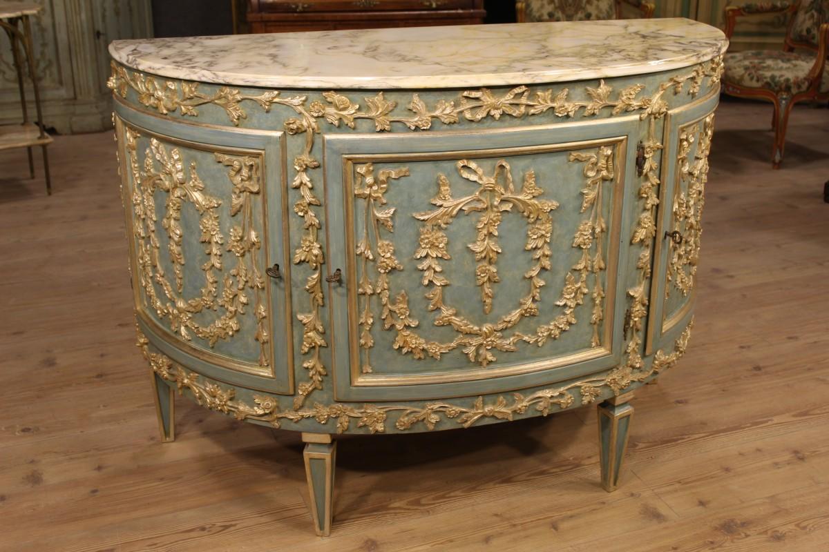 Credenza Con Piano In Marmo : I mobili antichi in stile luigi xvi