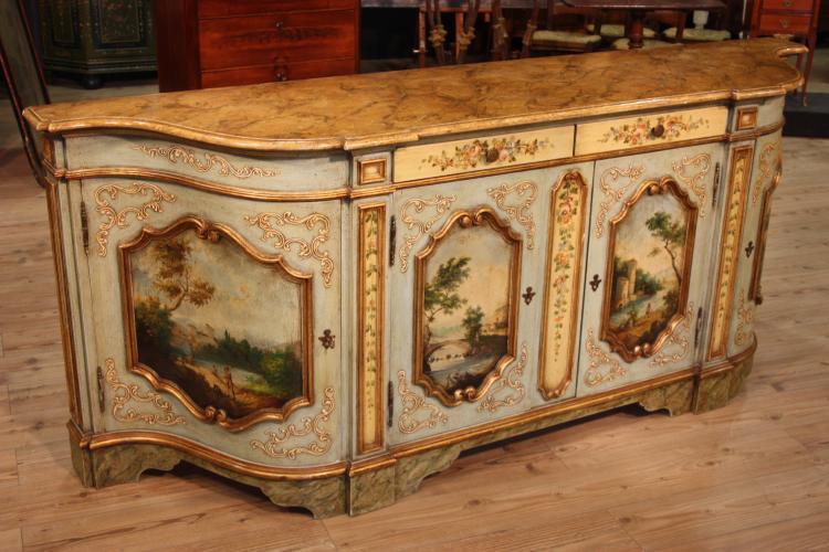 Mobili antichi laccati e dipinti a mano chinoiserie - Immagini di mobili antichi ...