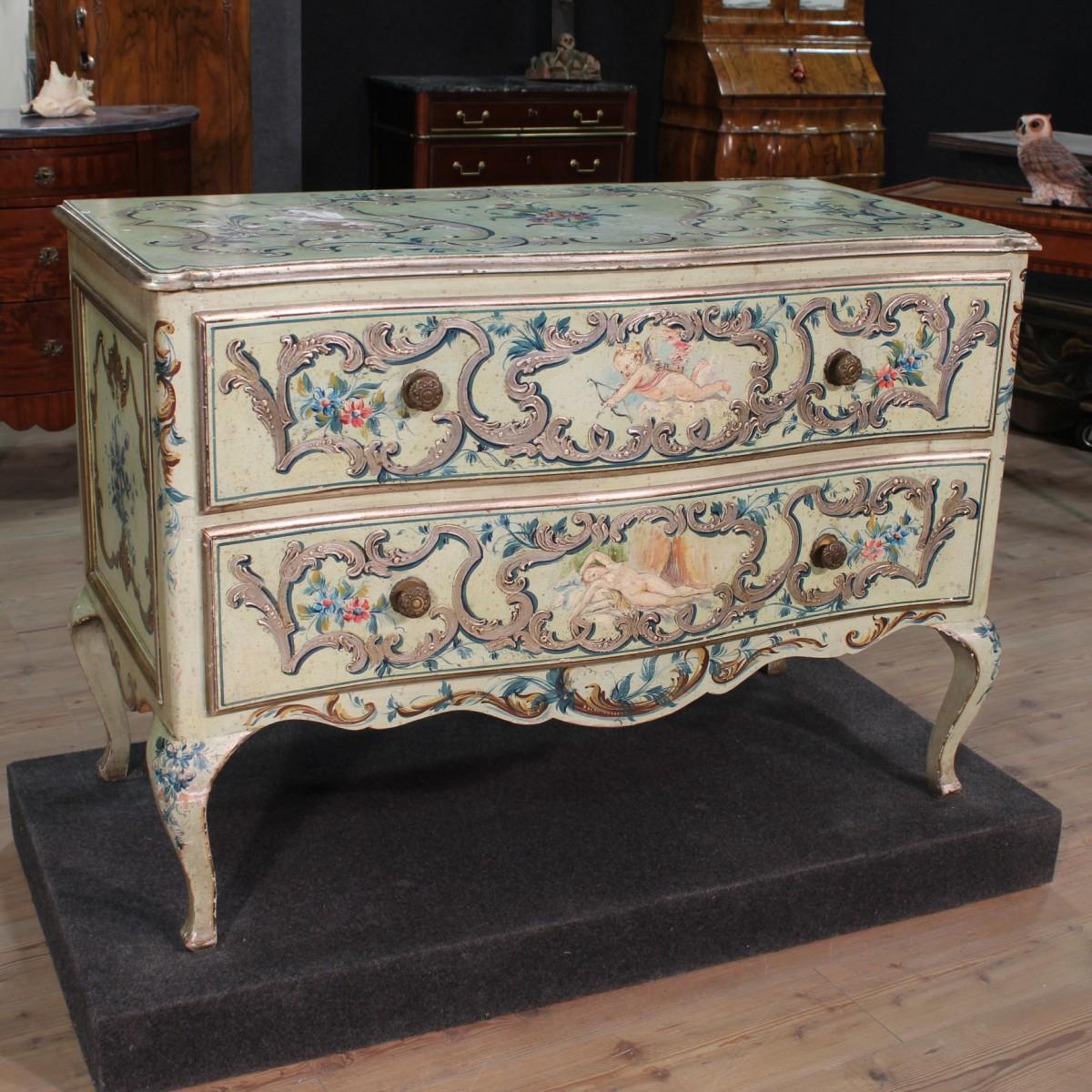 Antiquariato veneziano e l 39 origine dei mobili in stile - Mobili in stile francese ...