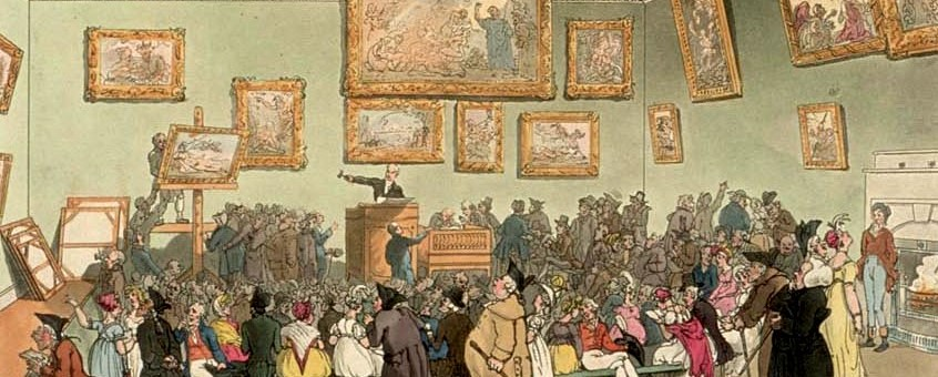 Christie's auction room