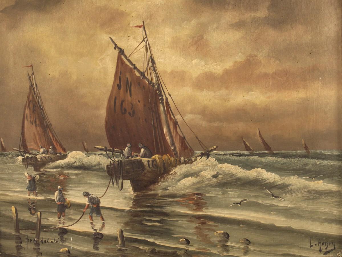 Paesaggi e marine nei dipinti dell\'Ottocento