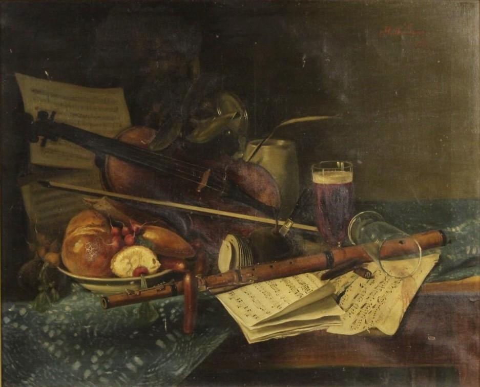 La natura morta nei dipinti dell\'Ottocento