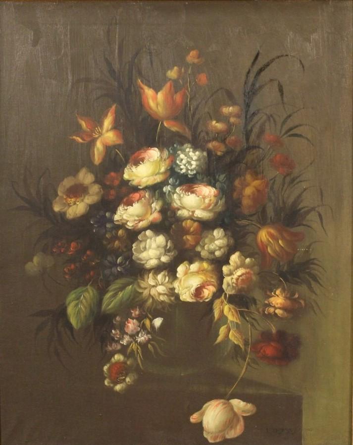 La natura morta nei dipinti dell 39 ottocento for Immagini di fiori dipinti