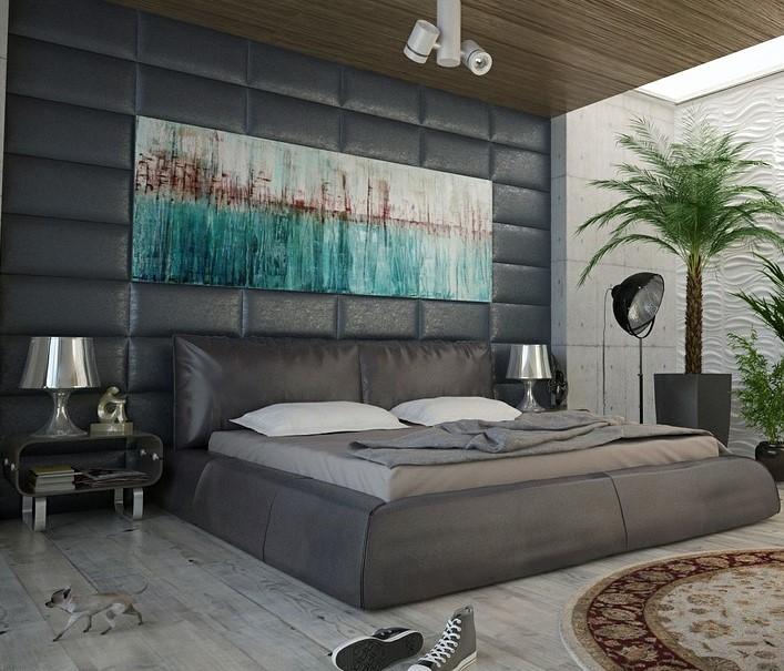 Arredare con stile dipinti antichi per case moderne - Camera da letto arredamento moderno ...