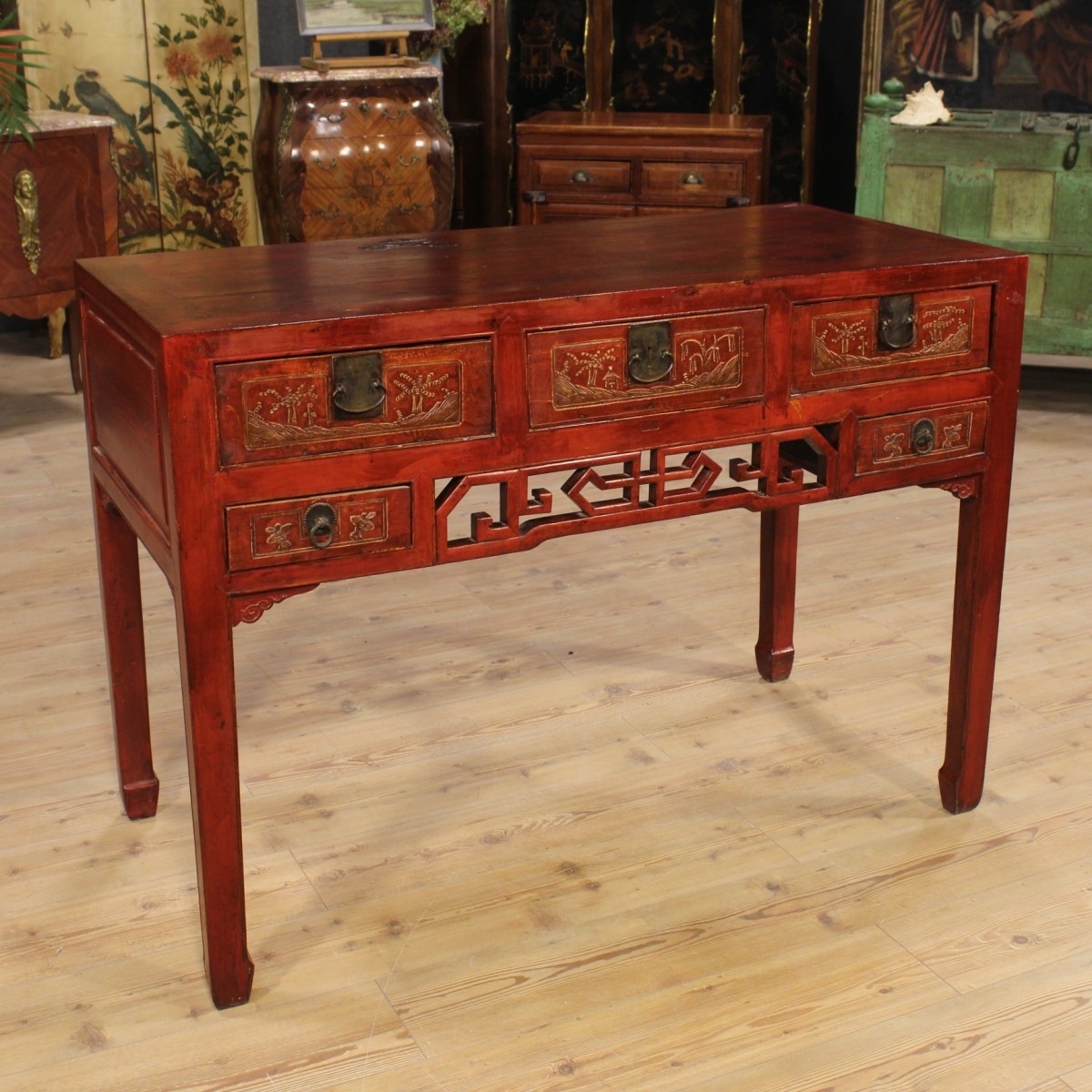 Originalit in casa i mobili antichi laccati - Mobili laccati moderni ...